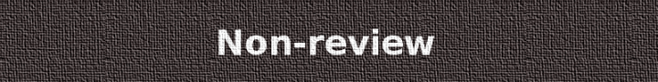 A grey canvas style banner with the text 'Non-review'